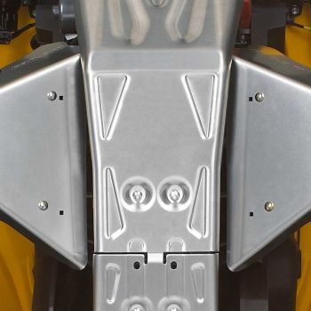 Hasplåt fram, aluminium