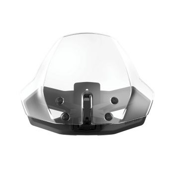 Adjustable Sport Windshield - Translucent
